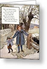 Richardson: Mother Goose Greeting Card by Granger
