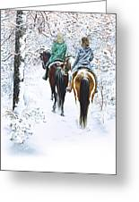 Ride Into Faerieland Greeting Card by Jill Westbrook