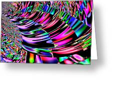 Ride The Rainbow 2 Greeting Card by Annie Zeno