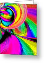 Ride The Rainbow Greeting Card by Annie Zeno