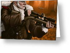 Rifleman Greeting Card by Mark Zelmer