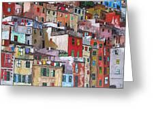 Riomaggiore - Cinque Terre - Italy Greeting Card by Dan Haraga