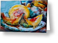 Ripe And Juicy Greeting Card by Jani Freimann