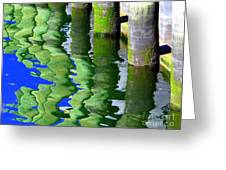 Ripple Reflections Greeting Card by Ed Weidman