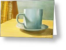 Rise And Shine Greeting Card by Joan A Hamilton