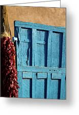 Ristras In Taos Greeting Card by Gia Marie Houck
