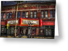 Ritz Ybor Theater Greeting Card by Marvin Spates