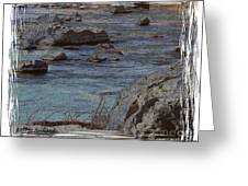 River Flows Greeting Card by Bobbee Rickard