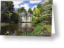 River Mansion Greeting Card by Dominic Davison