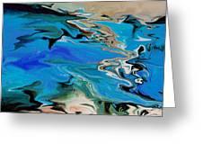 River Of Dreams Greeting Card by Indira Mukherji