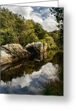 River Reflections II Greeting Card by Marco Oliveira