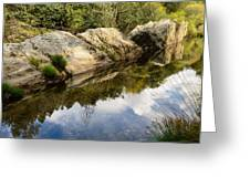River Reflections IIi Greeting Card by Marco Oliveira