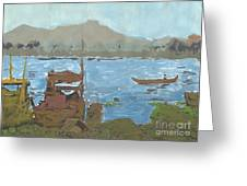 River View Greeting Card by Brandy Magill