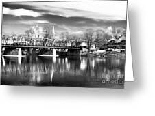 River View In New Hope Greeting Card by John Rizzuto