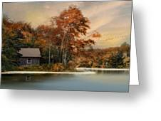 River View Greeting Card by Robin-lee Vieira