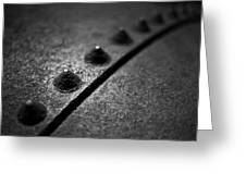 Rivets 1 Greeting Card by Scott Norris