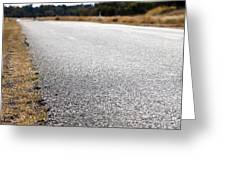 Road Edge Greeting Card by Tim Hester