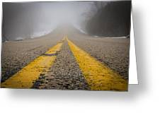 Road To Nowhere Greeting Card by Bill Pevlor