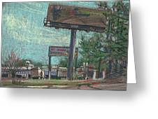 Roadside Billboards Greeting Card by Donald Maier