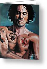 Robert De Niro In Cape Fear Greeting Card by Paul Meijering