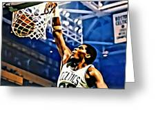 Robert Parish  Greeting Card by Florian Rodarte