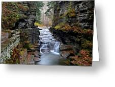 Robert Treman State Park Greeting Card by Frozen in Time Fine Art Photography