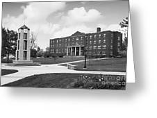 Roberts Wesleyan College Rinker Center  Greeting Card by University Icons