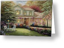 Robinson House Greeting Card by Cecilia  Brendel