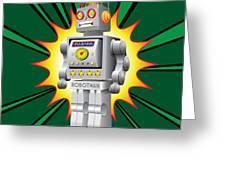 Robotman Greeting Card by Gary Grayson