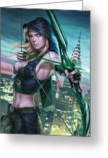 Robyn Hood Wanted 01a Greeting Card by Zenescope Entertainment