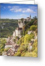 Rocamadour Midi-pyrenees France Greeting Card by Colin and Linda McKie