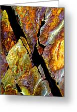 Rock Art 17 Greeting Card by Bill Caldwell -        ABeautifulSky Photography