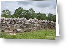 Rock Wall Steps Greeting Card by Kay Pickens