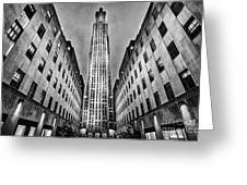 Rockefeller Centre Greeting Card by John Farnan