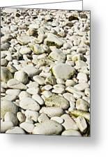 Rocks Abstract Greeting Card by Svetlana Sewell