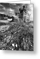 Rocks Greeting Card by Arkady Kunysz