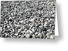 Rocks Of The Greek Greeting Card by John Rizzuto