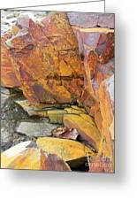 Rocks1 Greeting Card by Katina Cote