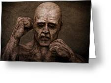Rocky Balboa - Zombie Greeting Card by Liam Liberty