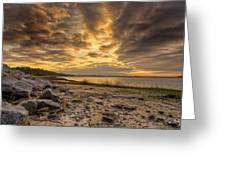 Rocky Beach Greeting Card by Phill  Doherty