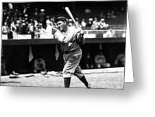 Rogers Hornsby Pre Game Swings Greeting Card by Retro Images Archive