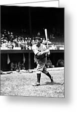 Rogers Hornsby Warm Up Swings Greeting Card by Retro Images Archive