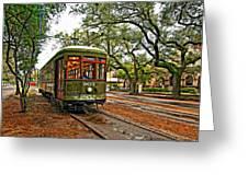 Rollin' Thru New Orleans Greeting Card by Steve Harrington
