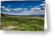 Rolling Hills Greeting Card by Tony Boyajian