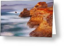 Romancing The Stone Greeting Card by Darren  White