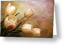 Romantic Spring Greeting Card by Claudia Moeckel