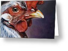 Rooster Greeting Card by Natasha Denger