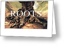Roots Greeting Card by Bob Salo
