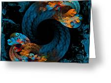 Roped Greeting Card by Sylvia Thornton