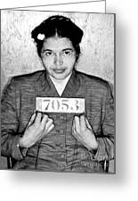 Rosa Parks Greeting Card by Unknown